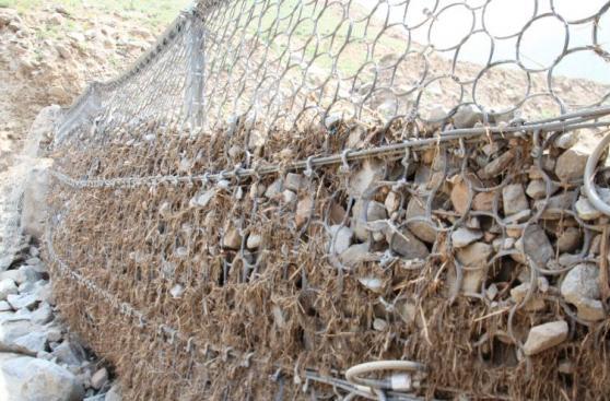 Las mallas que frenaron los huaicos en Chosica [FOTOS]