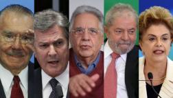Cinco ex presidentes de Brasil involucrados en Caso Odebrecht