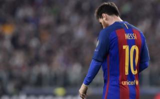 Lionel Messi: revelan qué le molestó más del 3-0 de Juventus