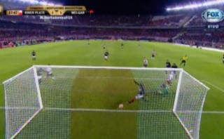 River Plate: Fernández marcó golazo de taco ante Melgar [VIDEO]