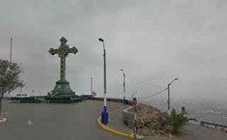 Google Maps: Lima vista desde la cruz del cerro San Cristóbal
