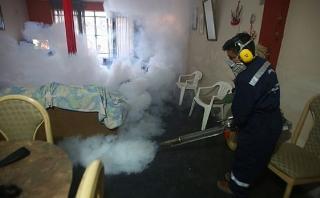 Dengue: Minsa intensifica fumigación de viviendas