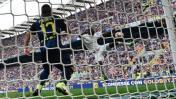 Gol del empate del AC Milan fue resuelto con el 'ojo de halcón'