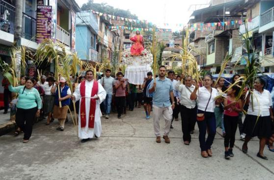 Vraem: retoman tras muchos años celebración de Semana Santa
