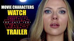 La 'reacción' de las estrellas de cine al tráiler de Star Wars