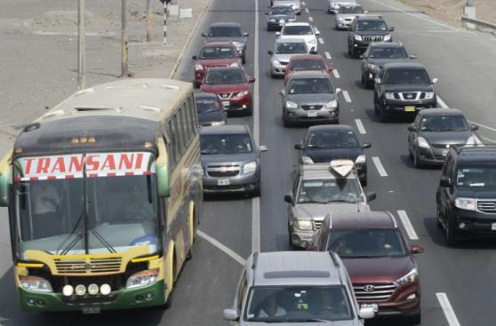 Panamericana Sur: retornan a Lima tras fin de semana largo