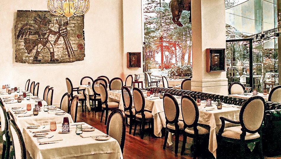 El restaurante Tragaluz se convierte en galería