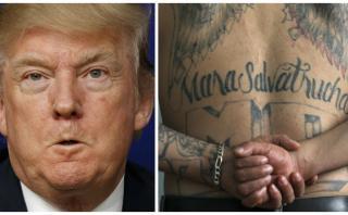 """Trump dice que """"eliminará rápidamente"""" a la Mara Salvatrucha"""