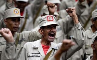 """EE.UU.: Armar a civiles en Venezuela """"llevará al desastre"""""""