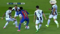 Barcelona: Neymar eludió a cinco rivales a punta de regates