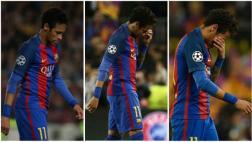 Barcelona eliminado: Neymar rompió en llanto tras pitazo final