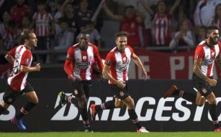Estudiantes ganó 1-0 a Atlético Nacional por Copa Libertadores