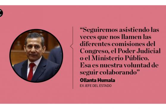Ollanta Humala: 12 frases que dejó en su visita al Congreso