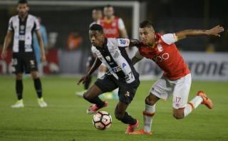 Santa Fe igualó 0-0 ante Santos en Bogotá por Copa Libertadores