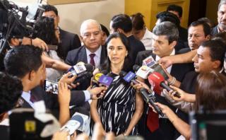 Nadine Heredia mintió al negar sus agendas, reconoce su abogado