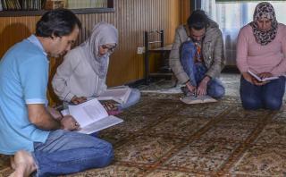 La familia iraquí que llegó a Colombia pensando que era EE.UU.
