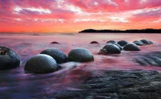 Koekohe: Sorpréndete con esta mágica playa de Nueva Zelanda