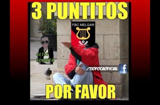 Melgar: memes se burlan de nueva derrota en Copa Libertadores