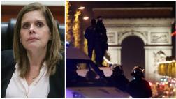 Mercedes Aráoz fue testigo del ataque en los Campos Elíseos