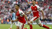 El gol de Alexis Sánchez ante el City que hizo estallar Wembley