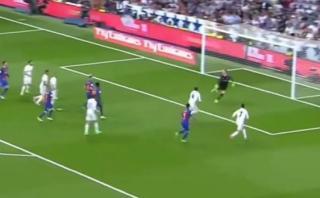 Real Madrid vs. Barcelona: Casemiro abrió marcador en clásico