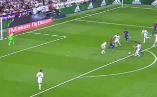 Messi y su golazo ante Real Madrid: así definió el '10' culé
