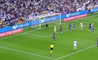 Gol de James Rodríguez: colombiano casi salva al Real Madrid