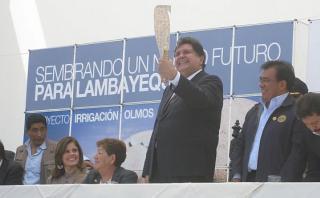 """""""García no puede ser incluido en lista de presidentes ladrones"""""""