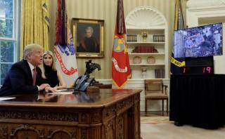 Trump quiere que un estadounidense pise Marte en su mandato