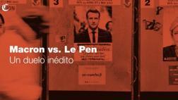 Macron y Le Pen, la disputa por la presidencia de Francia
