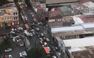 Chile: El preciso instante del terremoto en Valparaíso [VIDEOS]