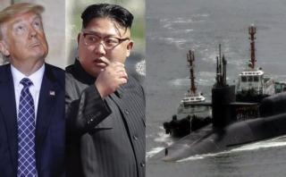 Estados Unidos envió un submarino nuclear a Península de Corea