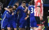 Chelsea venció 4-2 al Southampton con doblete de Diego Costa