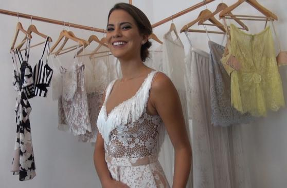Valeria Piazza busca un outfit ideal para LIF Week