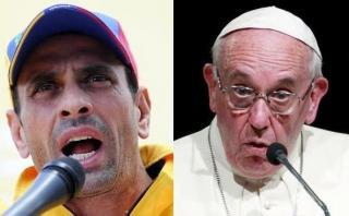 """""""Le pediría al papa un poquito más de atención a Venezuela"""""""