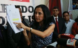 Fiscalía recibió informe de la FAO sobre Nadine Heredia