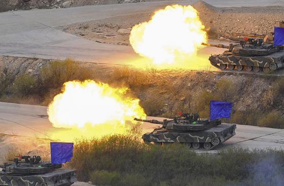 Las armas de guerra que EE.UU. probó cerca de Corea del Norte