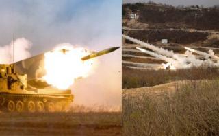 El temido lanzador de cohetes que EE.UU. usó cerca de Norcorea