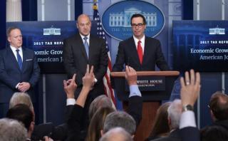 Trump propone recortar impuestos para personas y empresas