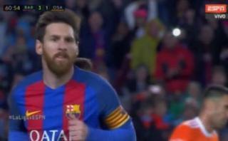 Lionel Messi imparable: curva precisa para marcar golazo