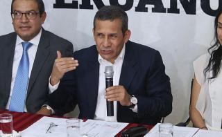 Humala acusa a García de permitir 'chuponeo' en su contra
