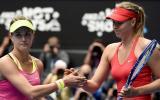 """La dura crítica de Bouchard contra Sharapova: """"Es una tramposa"""""""