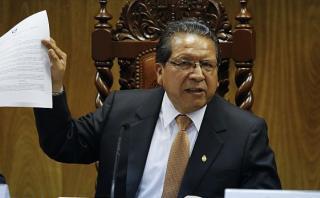 Sánchez: Interceptación a Ollanta Humala fue con orden judicial