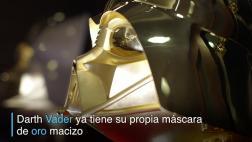 La máscara de oro de Darth Vader que saldrá a la venta en Japón