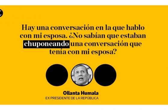 Humala insiste en acusar a gobierno de García de 'chuponeo'