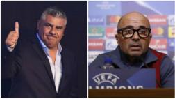 "Claudio Tapia, presidente de la AFA: ""Sampaoli es el elegido"""