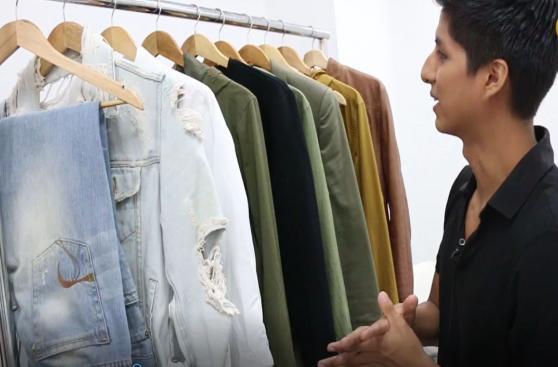 El clóset del diseñador: Las prendas favoritas de Oscar Chunga