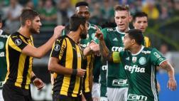 Conmebol abrió proceso disciplinario contra Peñarol y Palmeiras