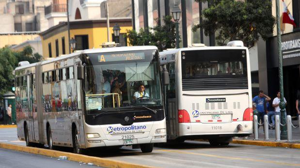 Metropolitano: este es el horario y rutas por Día del Trabajo