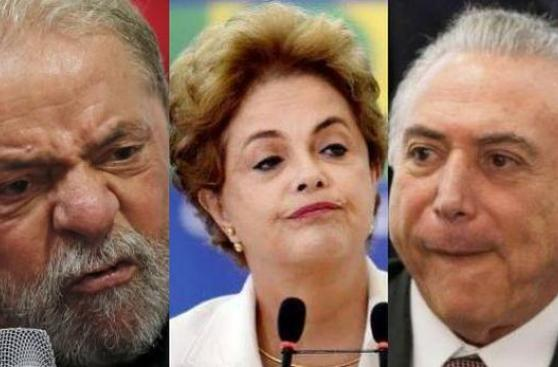 "Brasil: Lula y Dilma afirman que Temer ""destruye al país"""